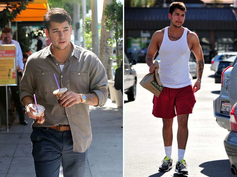 rob kardashian weight loss